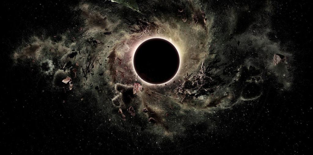 Гигантская чёрная дыра