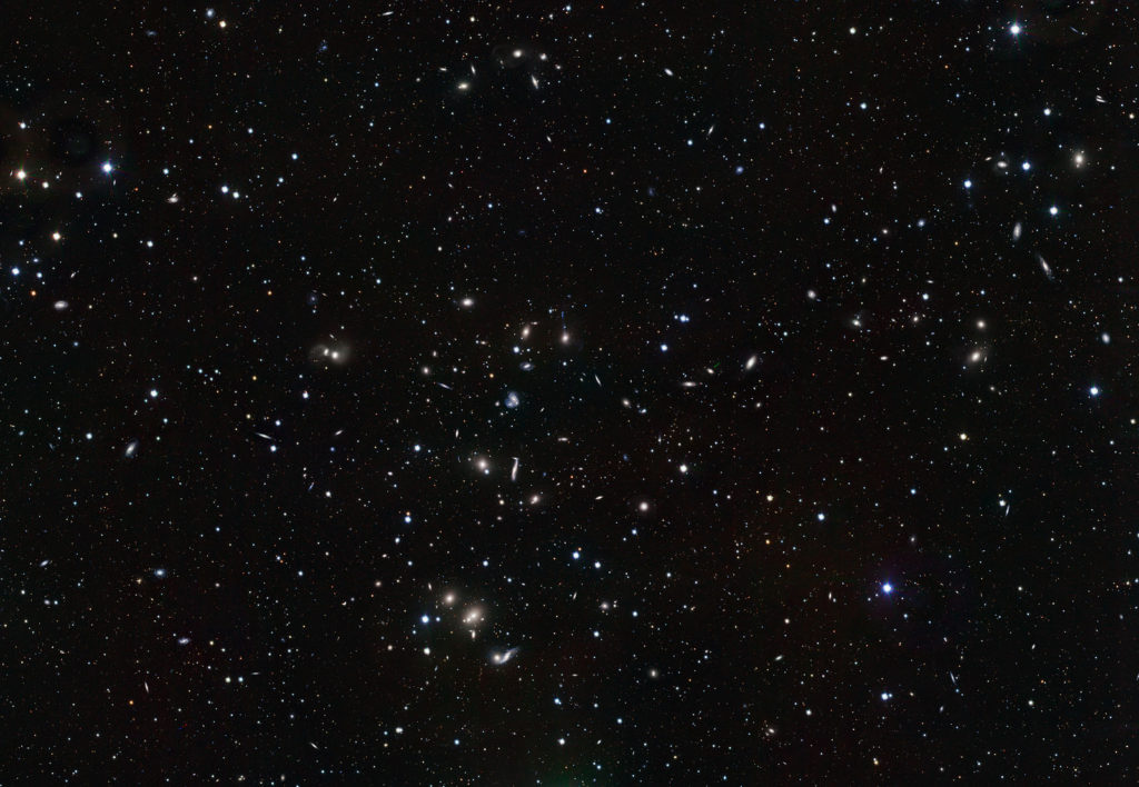 Скопление Геркулеса. ESO/INAF-VST/OmegaCAM. Можно рассмотреть в любительский телескоп