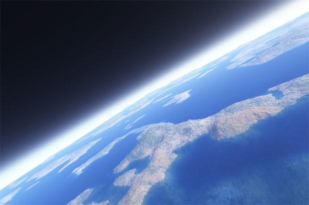 Защитная атмосфера планеты