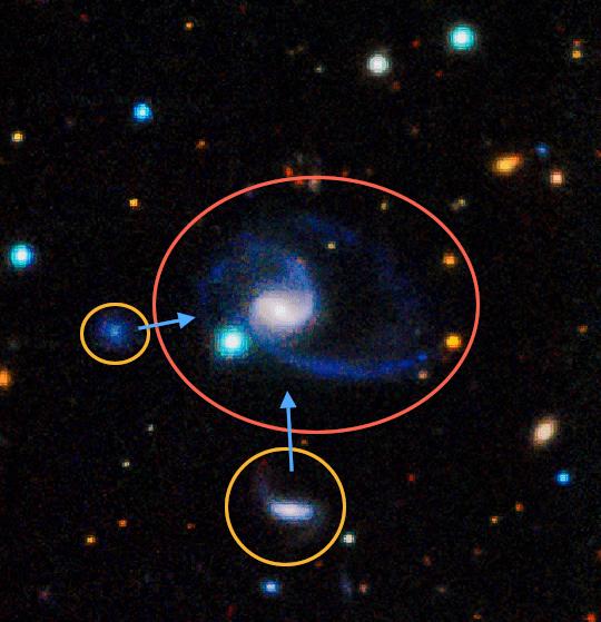 Спиральная галактика Gama202627. Похожий близнец Млечного пути
