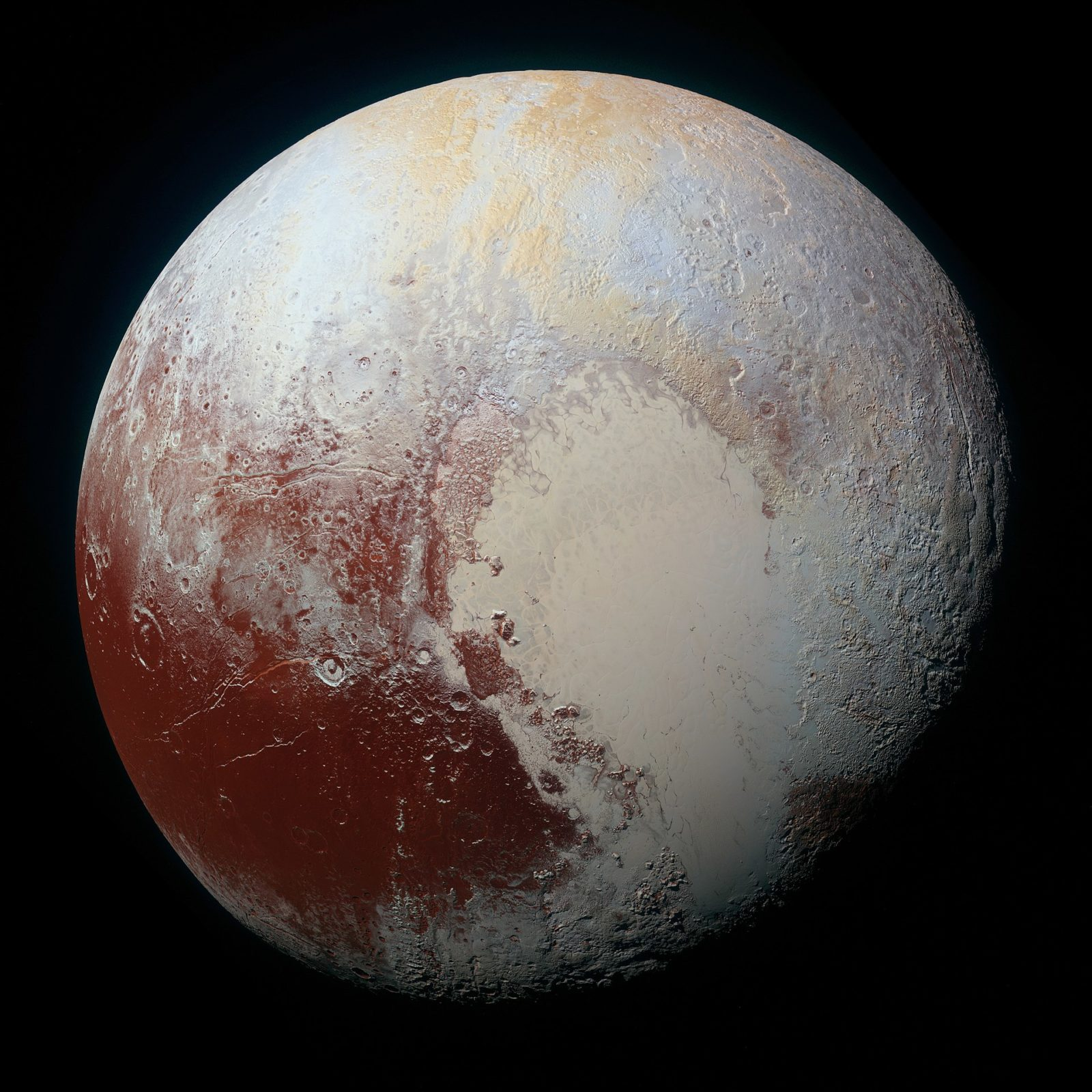 PLUTO - NEW HORIZONS - July 14, 2015