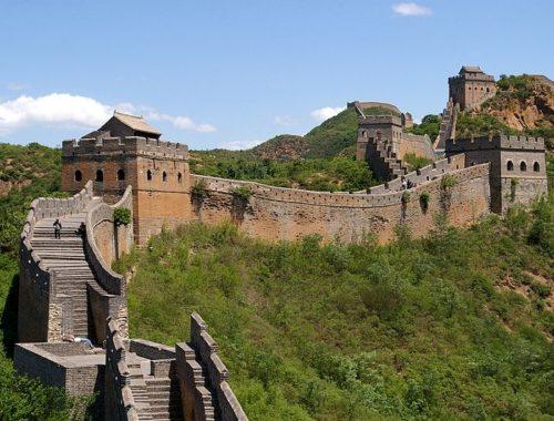 Великая Китайская стена в провинции Цзиньшаньлин. Français : La Grande Muraille de Chine, section de Jinshanling. Автор фото: Jakub Hałun