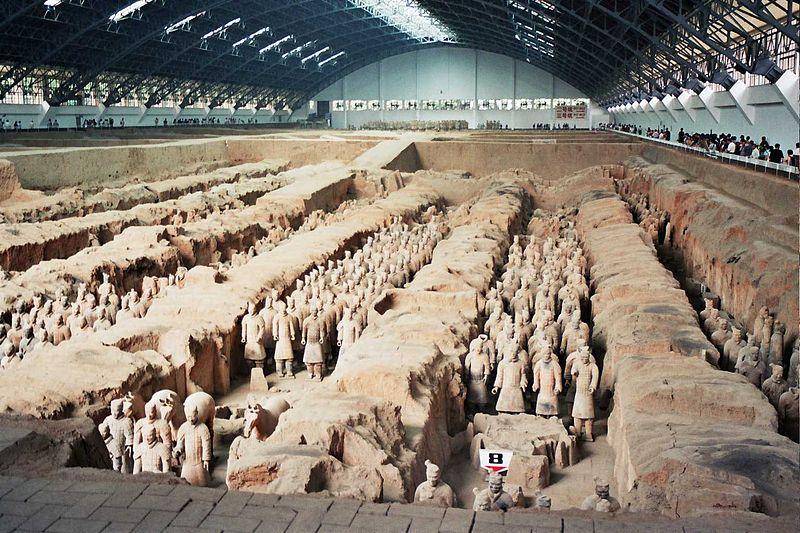 Терракотовая армия. Гробница первого императора династии Цинь