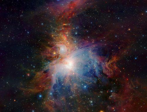Через любительский телескоп. ESO/J. Emerson/VISTA [CC BY 4.0 (https://creativecommons.org/licenses/by/4.0)]