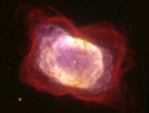 Планетарная туманность NGC 7027 Автор: William B. Latter (SIRTF Science Center/Caltech) and NASA [Public domain]