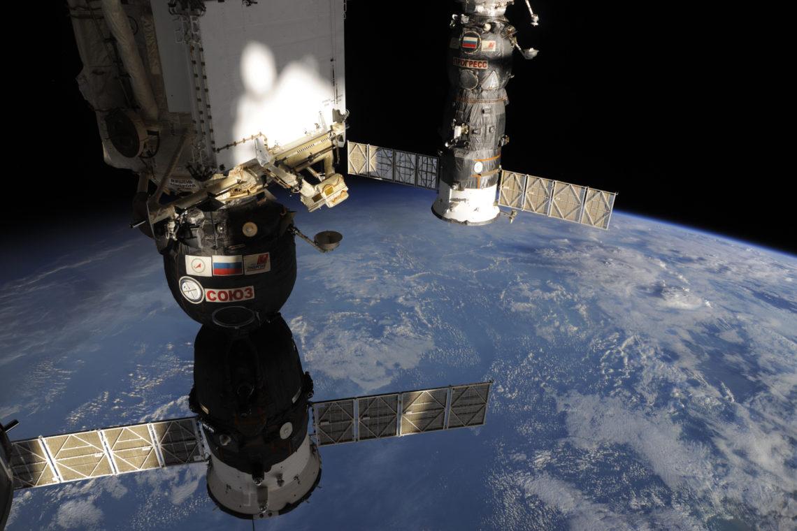 """Экспедиция МКС 36/37. ТПК """"СОЮЗ ТМА-09М"""". Вид из купола."""