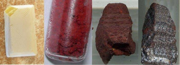 Аллотропные модификации фосфора (белый, красный, чёрный, металлический)