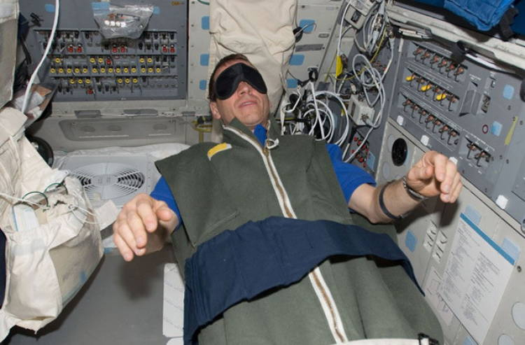 Нехватка сна у астронавтов увеличивает стрессовые состояния