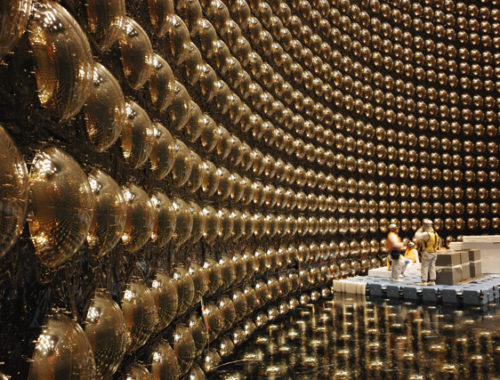 Самый большой в мире подземный детектор нейтрино; Супер-Камиоканд