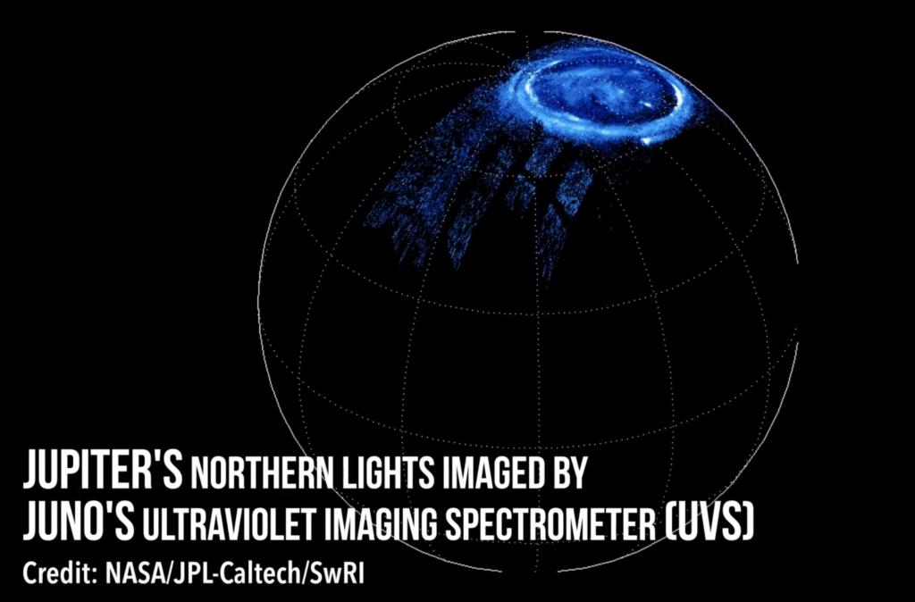 Чем отличаются полярные сияния на Юпитере от земных?
