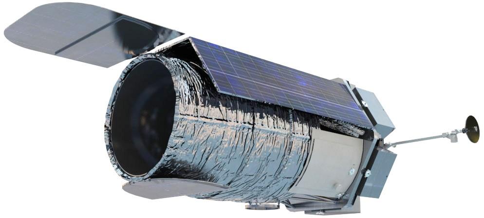 Инфракрасный телескопа WFIRST - Рендеринг художника. NASA
