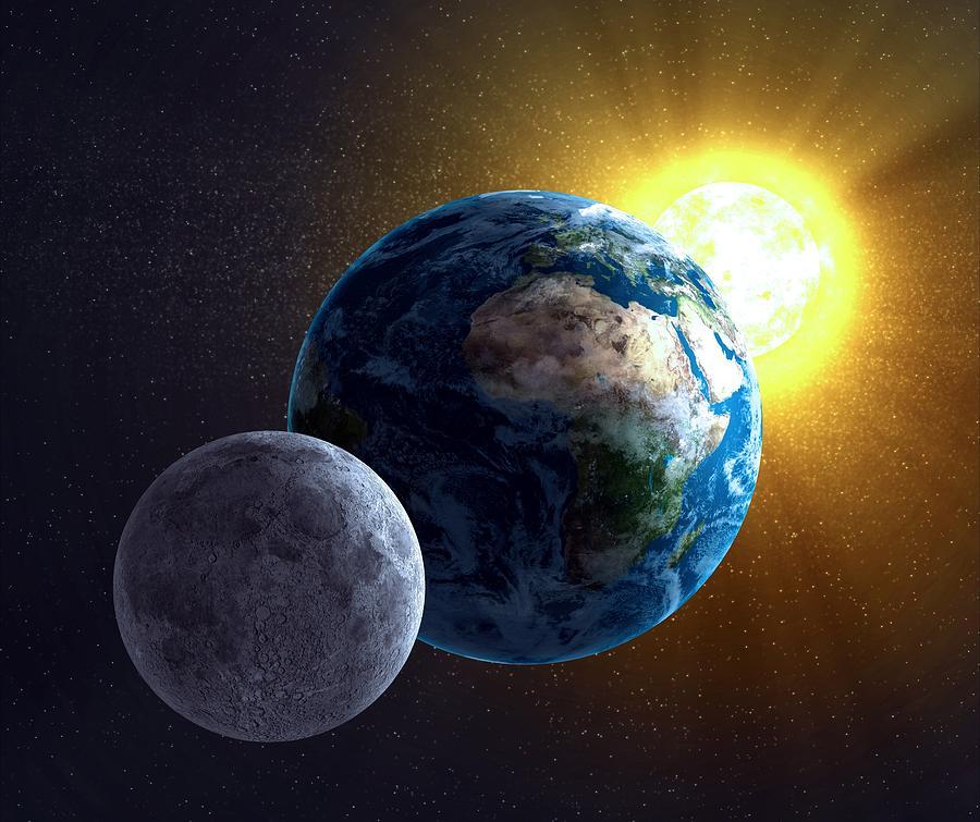 что больше - Луна или Солнце