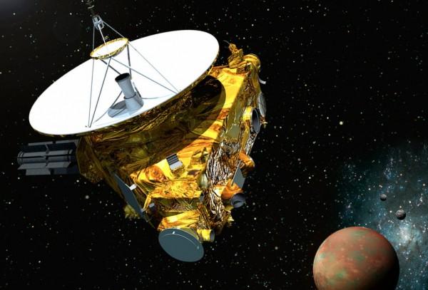 Зонд New Horizons приближается к Плутону
