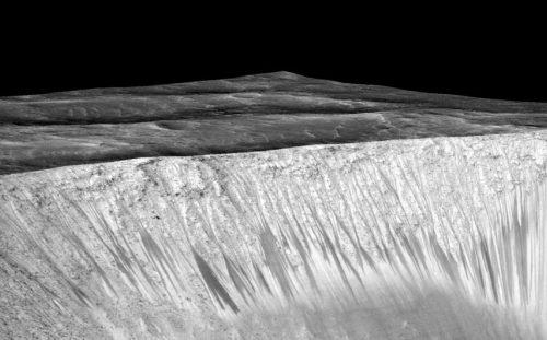 NASA: на Марсе найдена вода