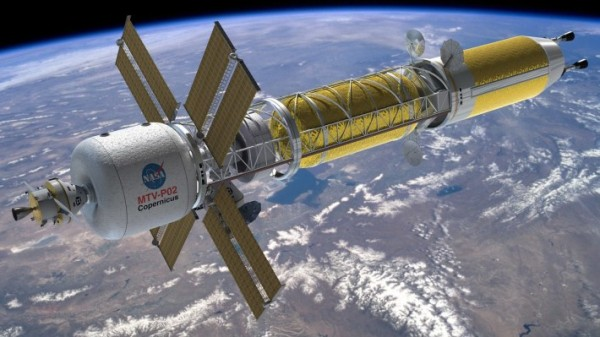 НАСА полет