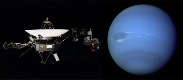 Вояджер2 и Нептун