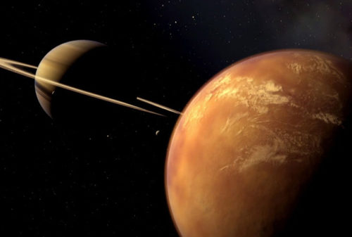 На Титане обнаружены полярные ветры, как на Земле