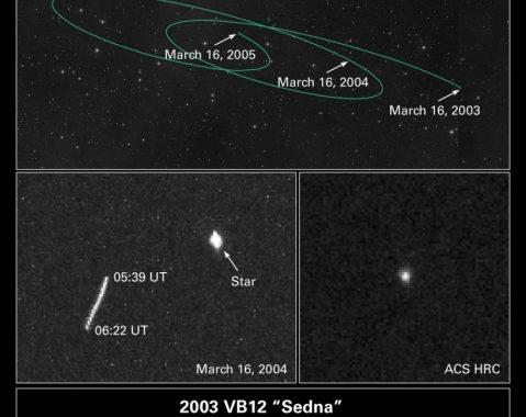 Седна - далекий транснептуновый объект