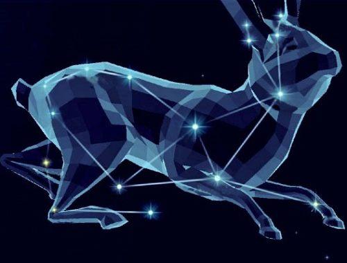 Созвездие Заяц, входящее в состав каталога Птолемея