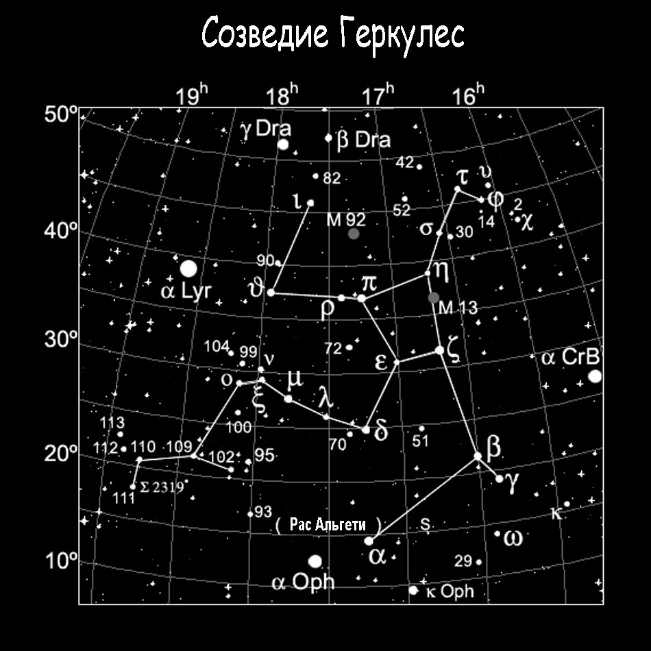 Созвездие Геркулес