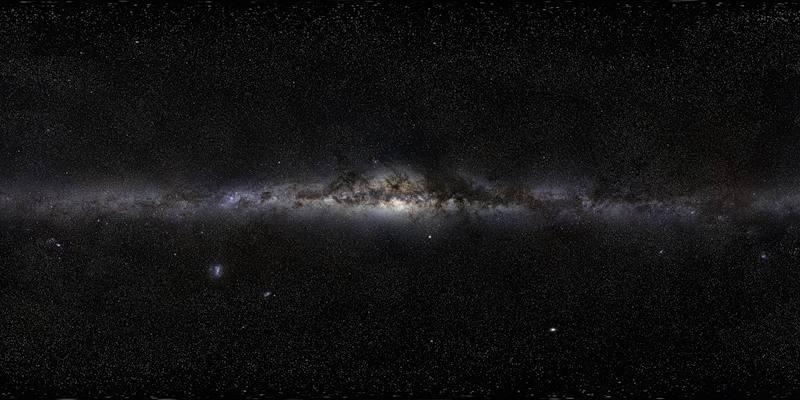 Панорама Млечного Пути 800-мегапиксельная