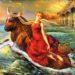 Созвездие Телец, символизирующее голову быка
